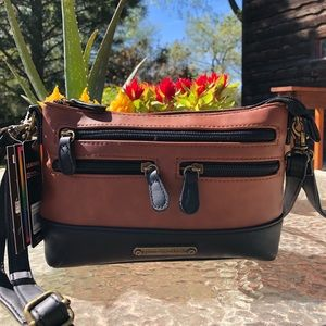 Leather 4 Bags in one